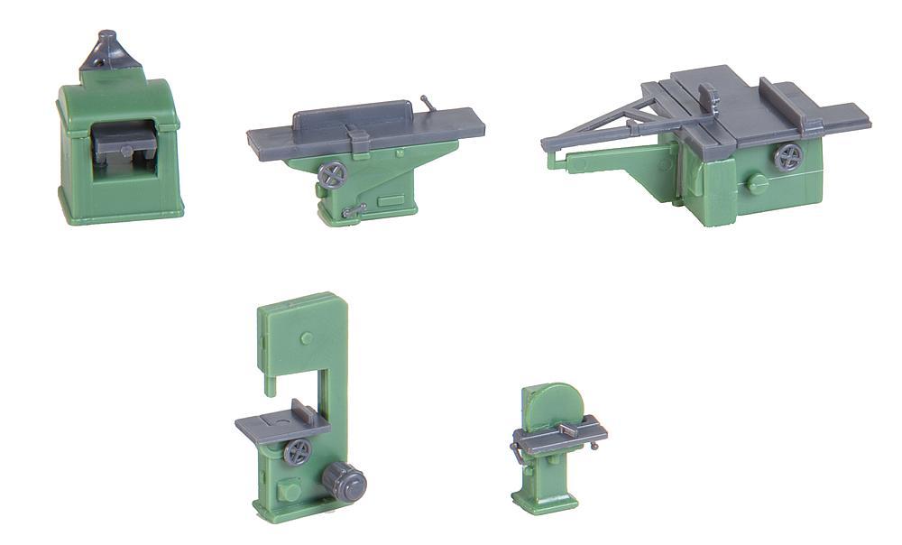 Faller 180961 Spur  H0 Bausatz  Holzbearbeitungsmaschinen