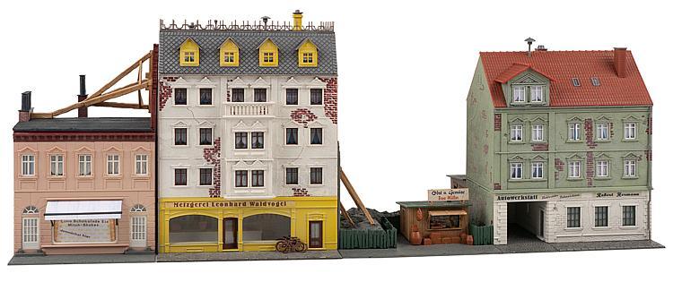 Faller 191748 H0 Bausatz Stadthäuserzeile Breitestraße
