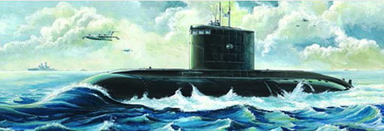 Trumpeter 755903 Bausatz 1:144 KKRF Kilo Class U-Boot