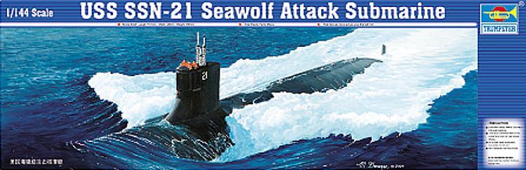 Trumpeter 755904 Bausatz 1:144 SSN -21 USS Sea Wolf