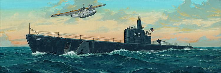 Trumpeter 755905 Bausatz 1:144 USS GATO 1941