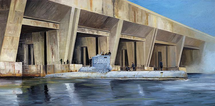 Trumpeter 755907 Bausatz 1:144 Kriegsmarine U-Boot Type XXIII