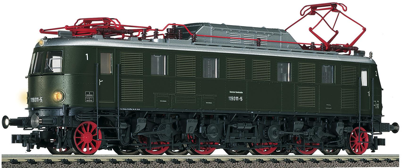 Fleischmann 391801 H0 E-Lok 119 011 DB grün digital für 3 Leiter