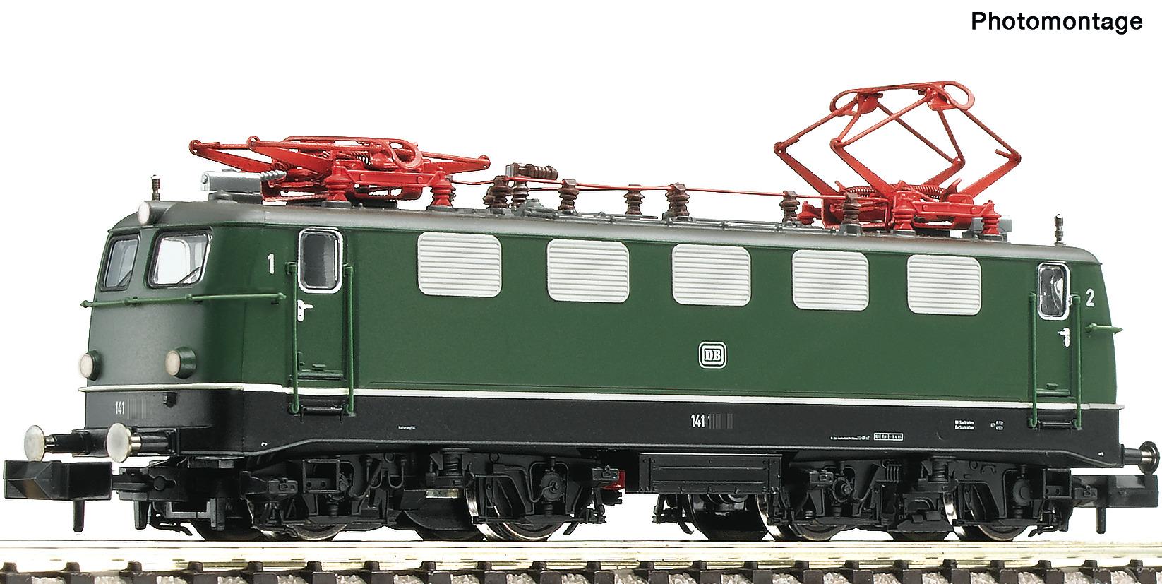 VO Fleischmann 734174 Spur N E-Lok BR 141, SND. grün
