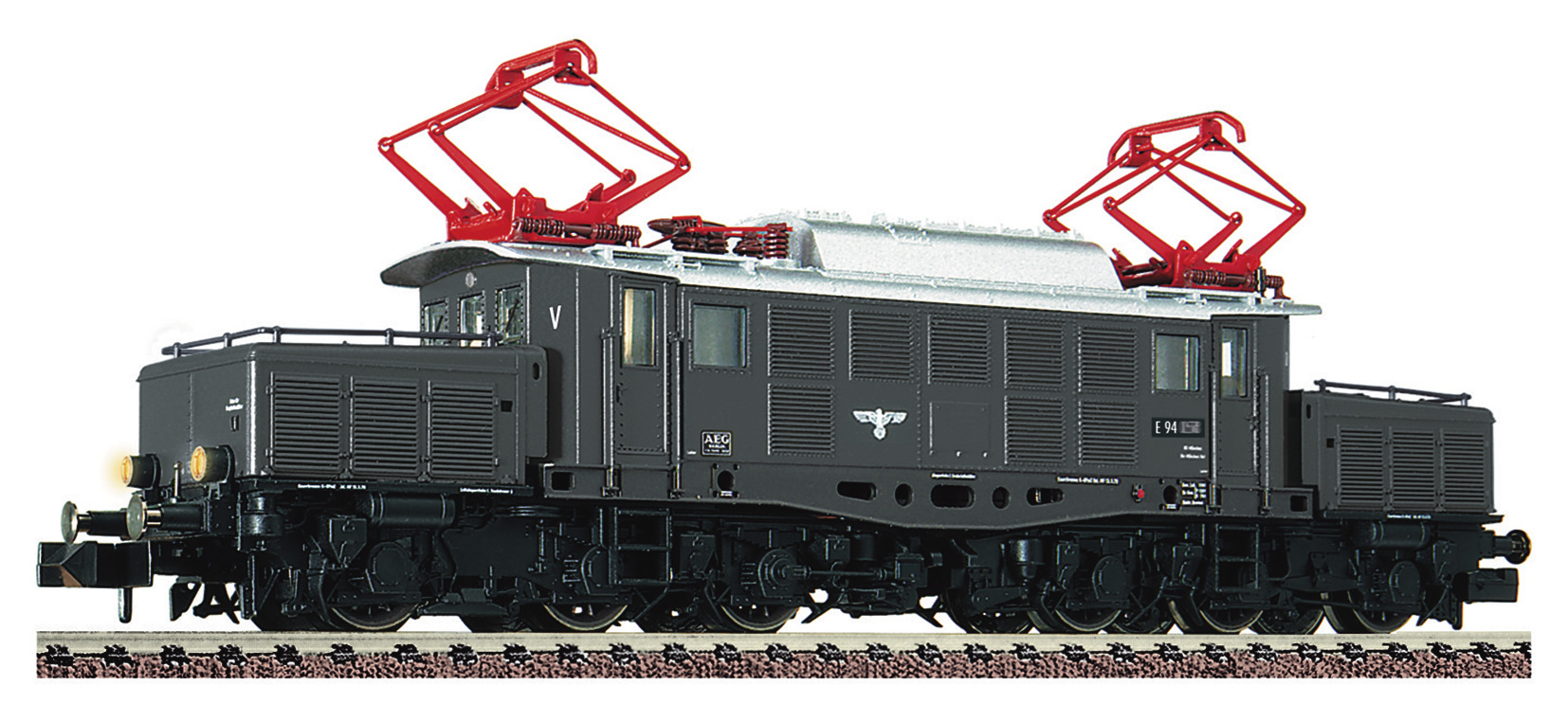 VO Fleischmann 739478 Spur N E-Lok BR E94 der DRB Sound