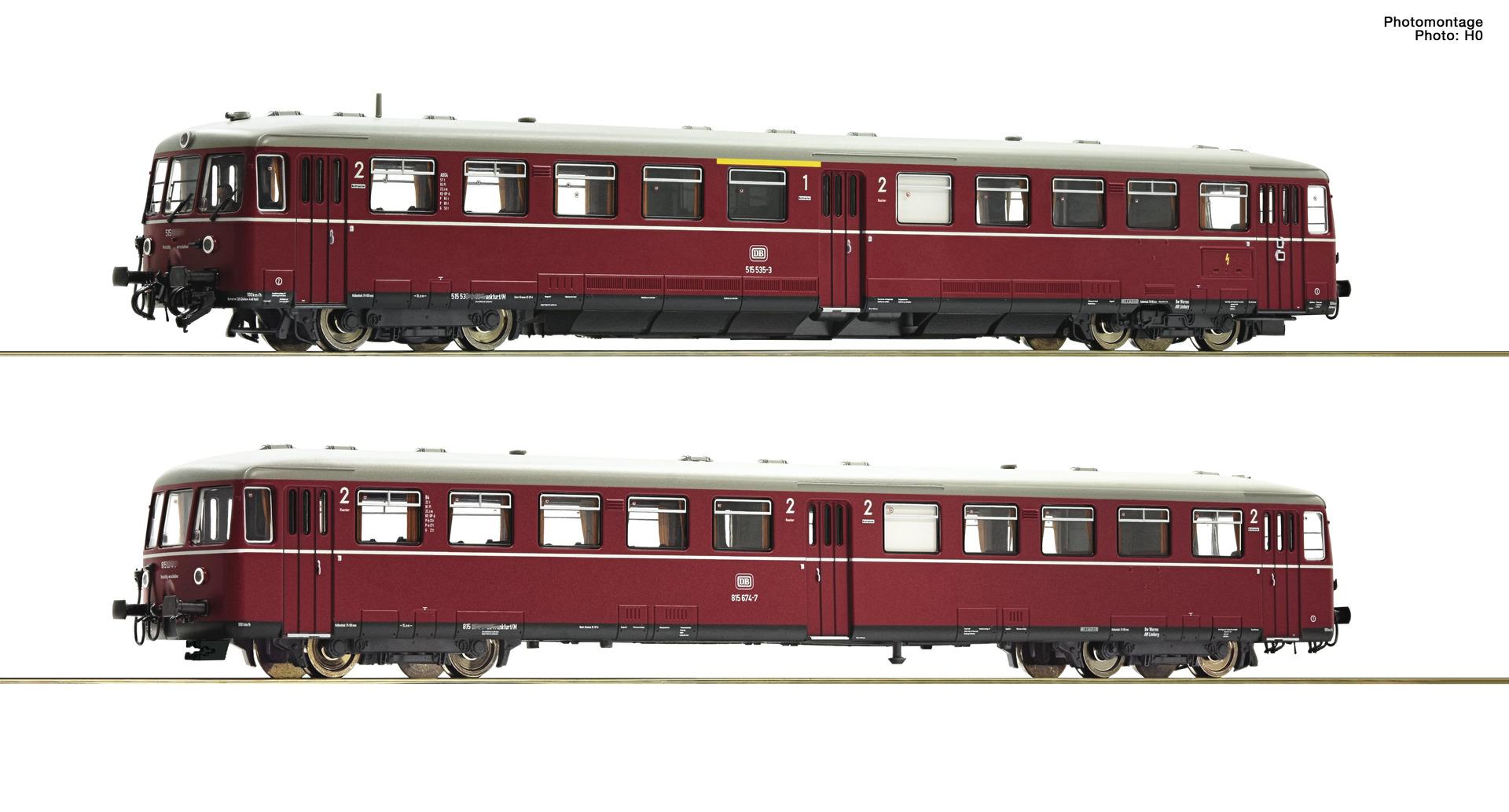 VO Fleischmann 740170 Spur N Akku-Triebz.BR 515 rt.SND.