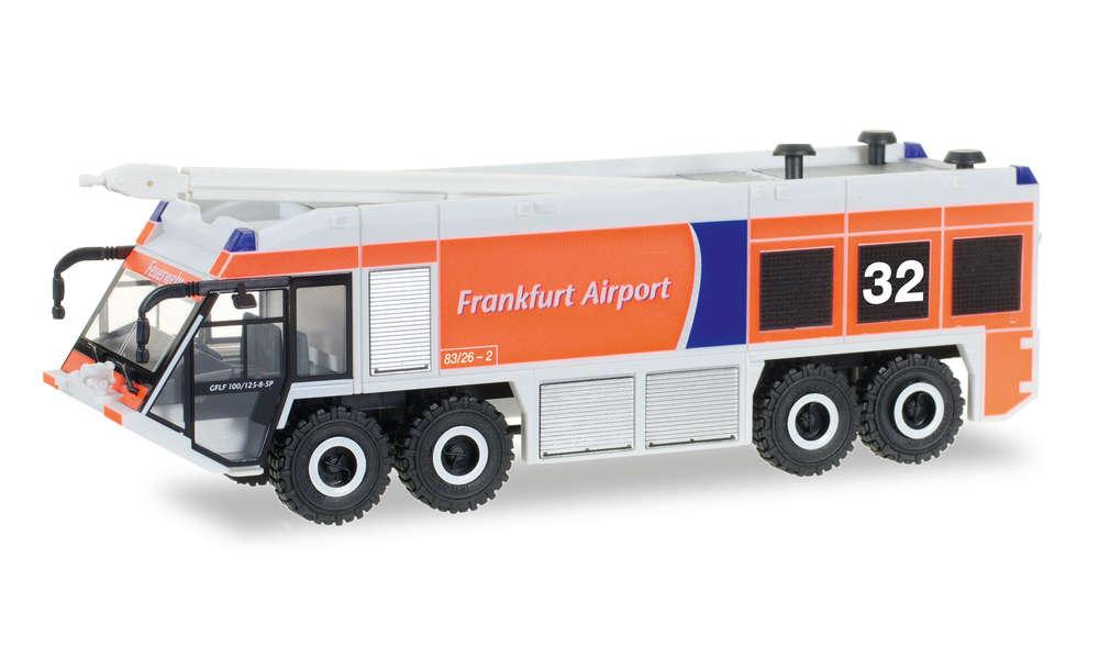 Herpa 093019 Ziegler Z8 Feuerwehr Fraport Nr 32 1:87