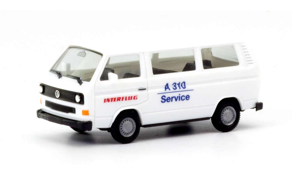 "Herpa 094658 VW T3 Bus ""Interflug"" limitiert 1:87"