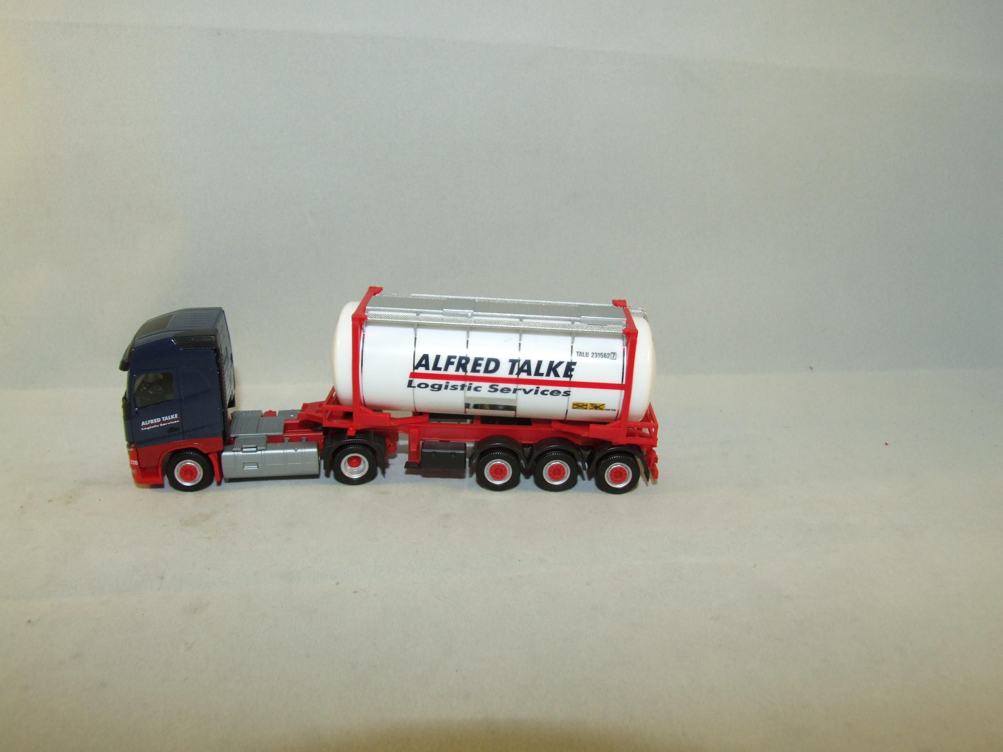 "Herpa H0 304016 Volvo FH Gl. Swapcontainer-Sattelzug ""Talke"""