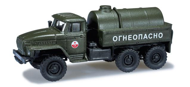 Herpa H0 1:87 Roco Minitanks 744300 Ural Tank LKW CA DDR