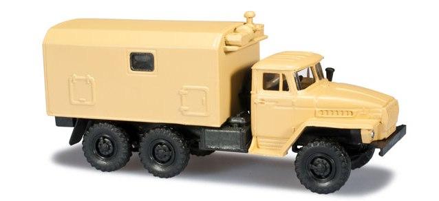 Herpa H0 1:87 Roco Minitanks 744324 Ural Befehlsstand LKW desert sandbeige