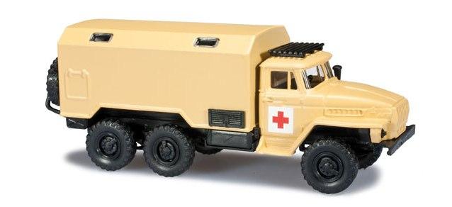Herpa H0 1:87 Roco Minitanks 744331 Rotes Kreuz  Koffer LKW desert sandbeige