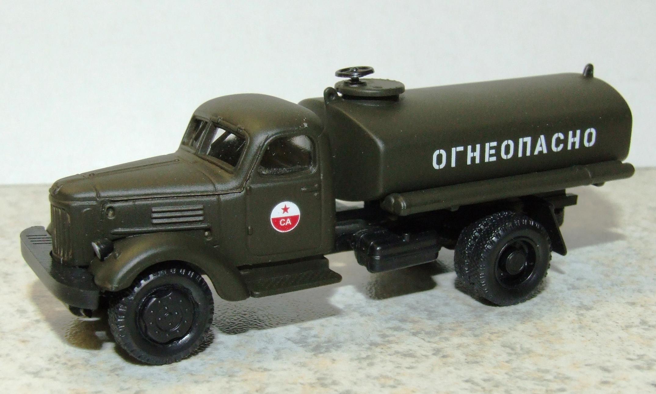 "Herpa H0 Roco Minitanks 744515 ZIL 164 Benzintank-LKW Sowjetarmee ""CA"""
