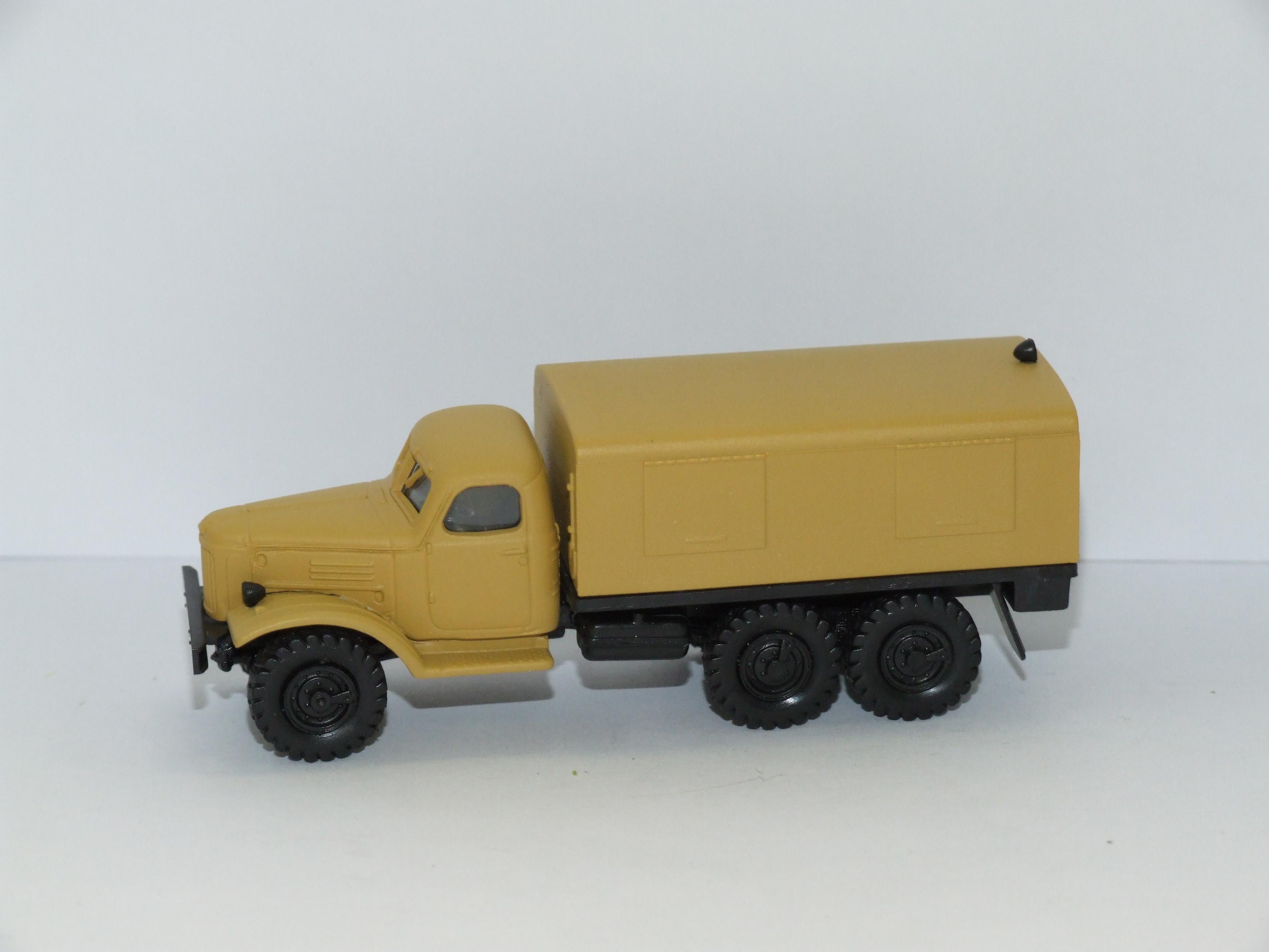 Herpa H0 1:87 Roco Minitanks 744522 ZIL 157 Koffer-LKW desert sandbeige