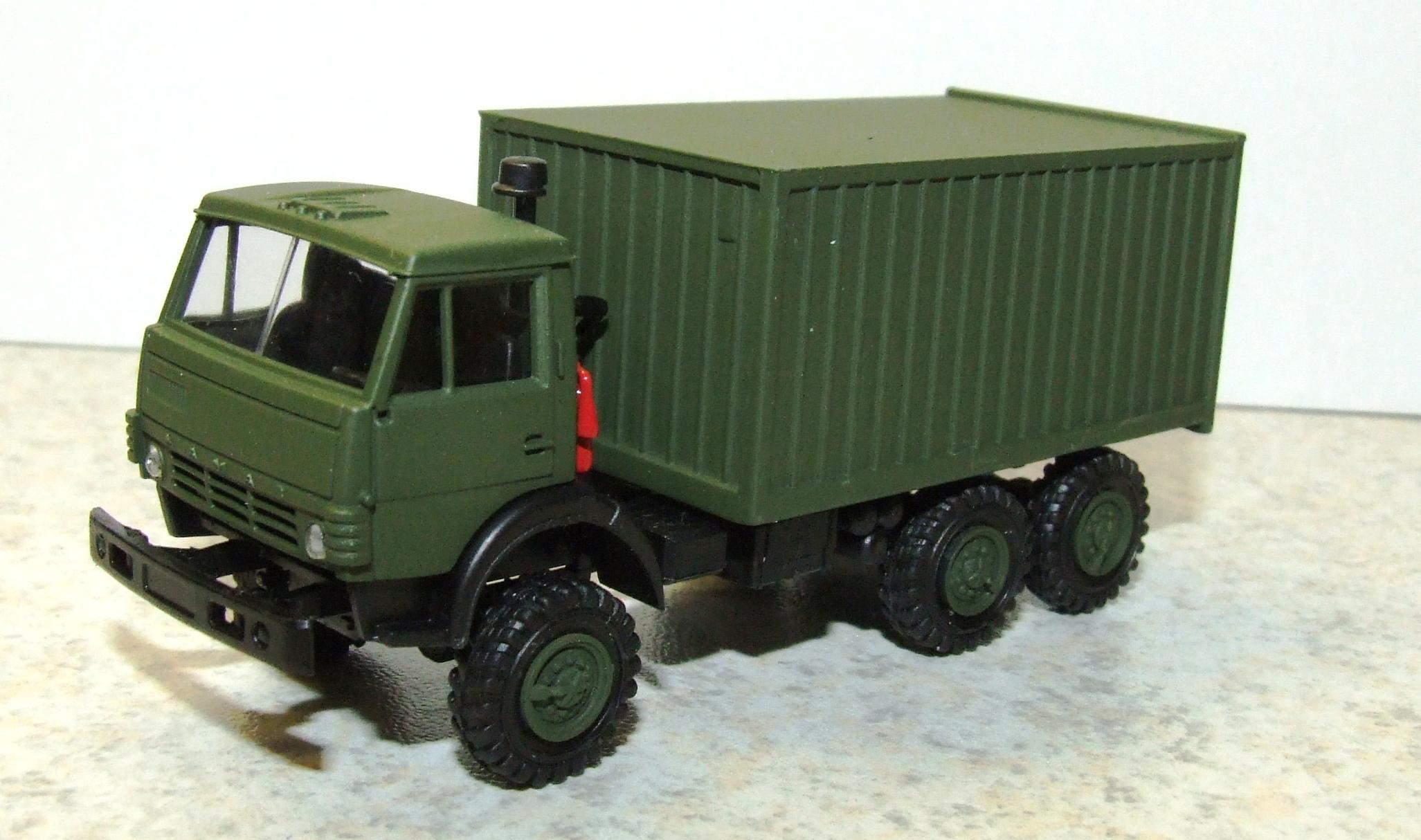 Herpa H0 1:87 Roco Minitanks 744935 Kamaz 5320 Koffer LKW NVA WP