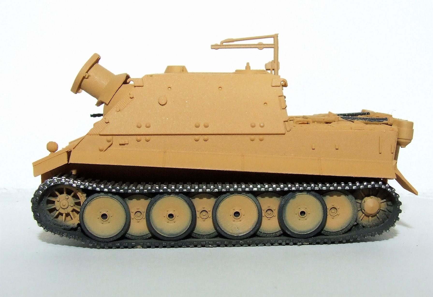 "Herpa Military 745505 38 cm Panzermörser, Prototyp ""Sturmtiger"" 1:87"