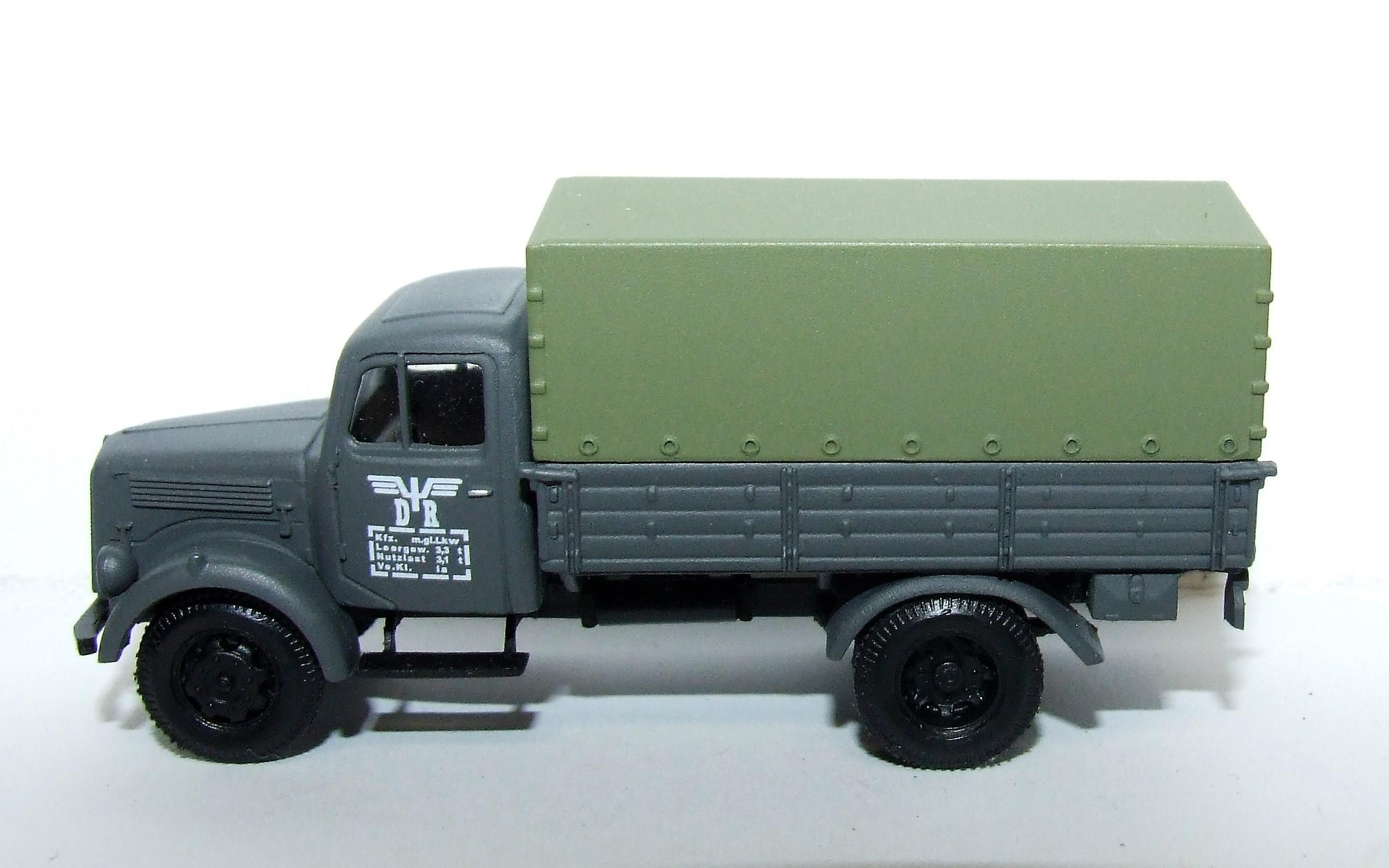"""Herpa Military 746069 Mercedes-Benz Planen-LKW """"Deutsche Reichsbahn"""" 1:87"""