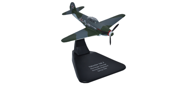 Oxford Ox 016 81AC054 1:72 Yak 3 Normandie Regiment 1945