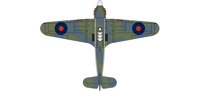 Oxford Ox 019 81AC059 1:72 Hawker Hurricane Mk1 880 Sqn