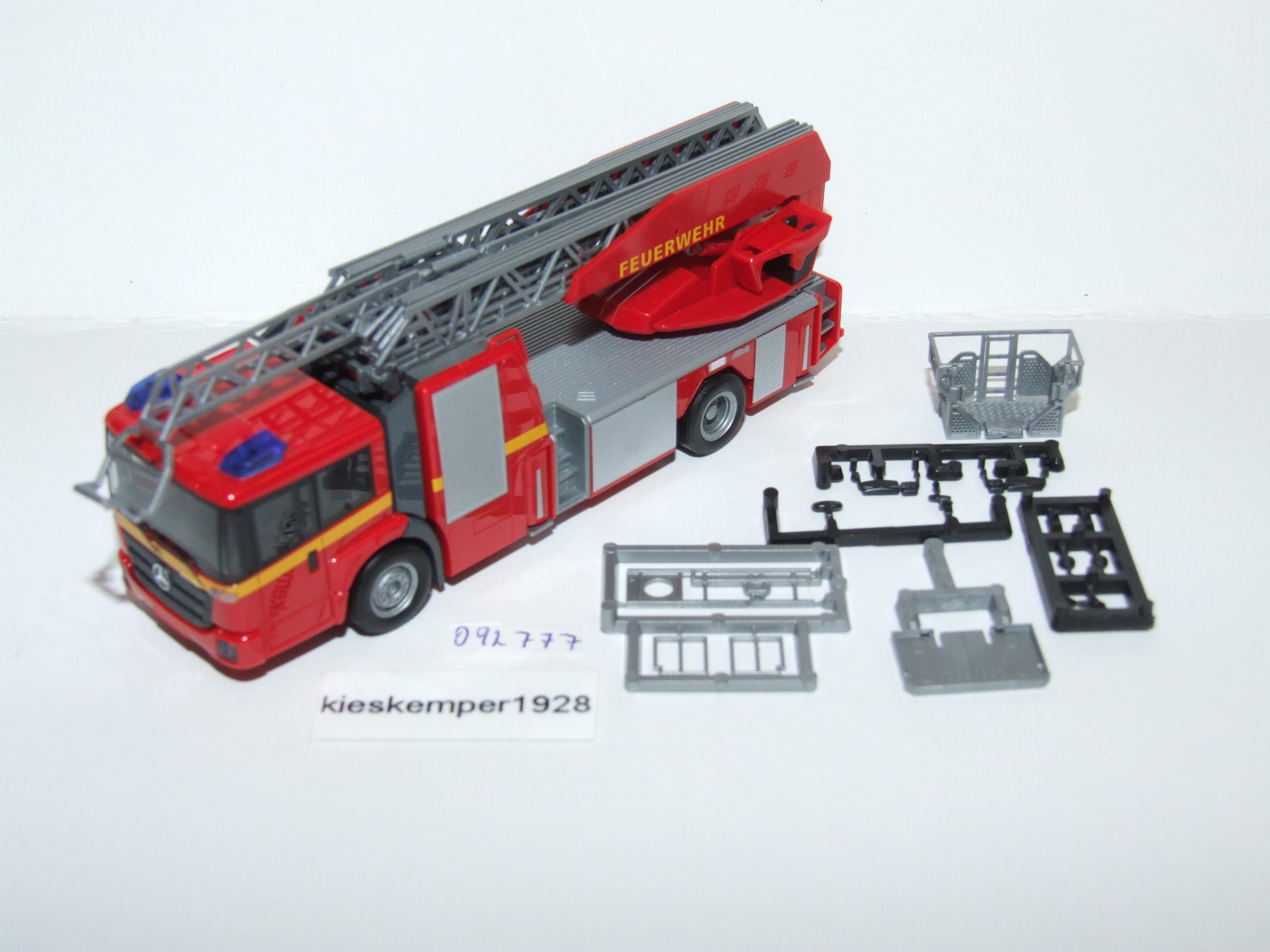 Feuerwehr Neu Herpa 092777-1//87 Mb Econic Metz Drehleiter L32 Xs