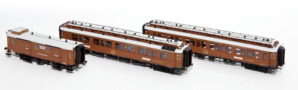 Hobbytrain 44014 Spur H0 CIWL Wien-Nizza-Cannes Express 3-tlg. Set 1