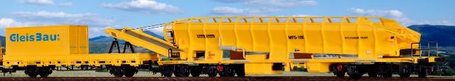 26150 Kibri MFS 100 + 26264 Schutzwagen mit Container und Auflage H0