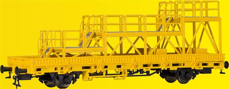 26262 Kibri H0 Niederbordwagen mit Arbeitsbühne