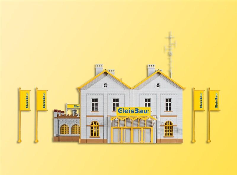 39323 Kibri H0 Bausatz Verwaltungsgebäude GleisBau
