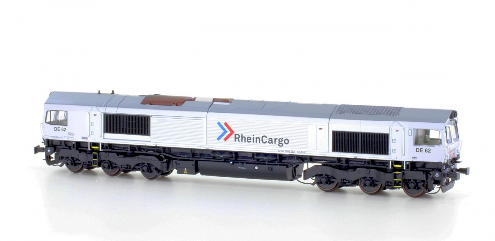 Heljan 10066323 H0 Class 66 Rheincargo Sound ab Werk digital für 3 Leiter