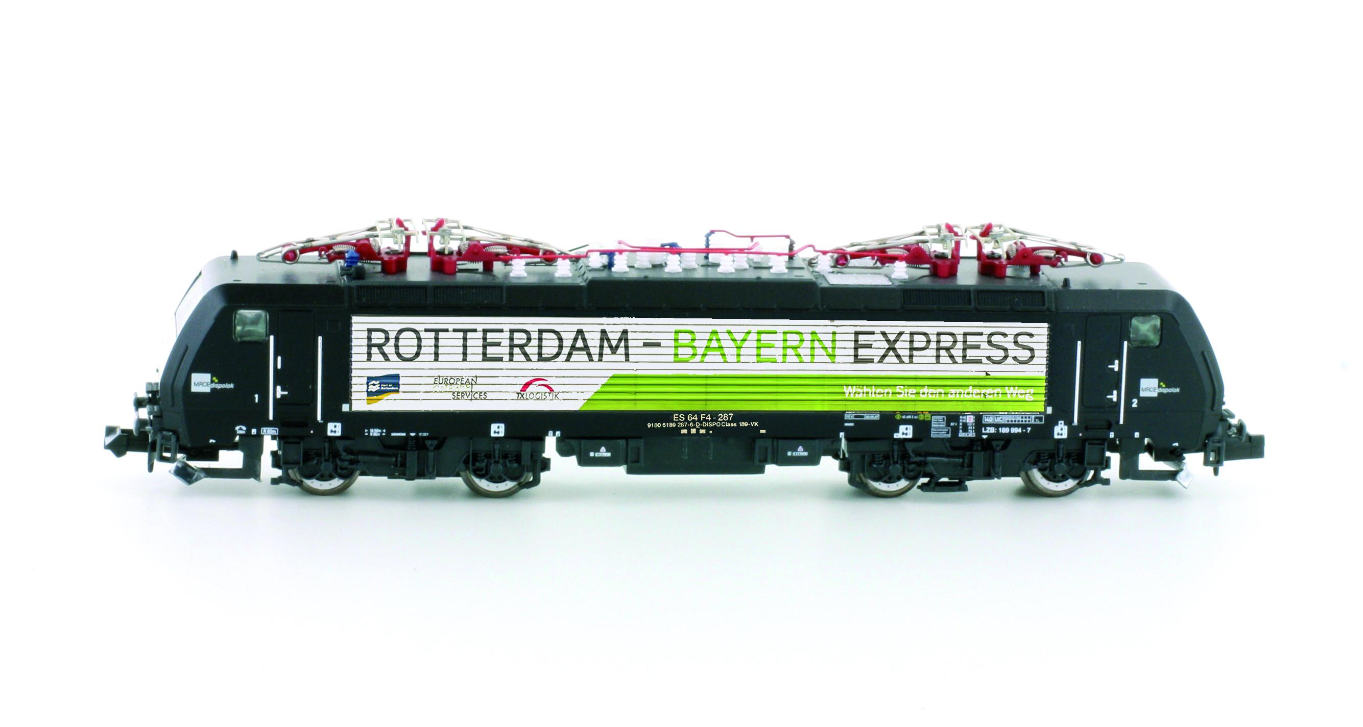 Hobbytrain 2924-1 S Spur N E-Lok BR189 MRCE R.-B.-Express SOUND