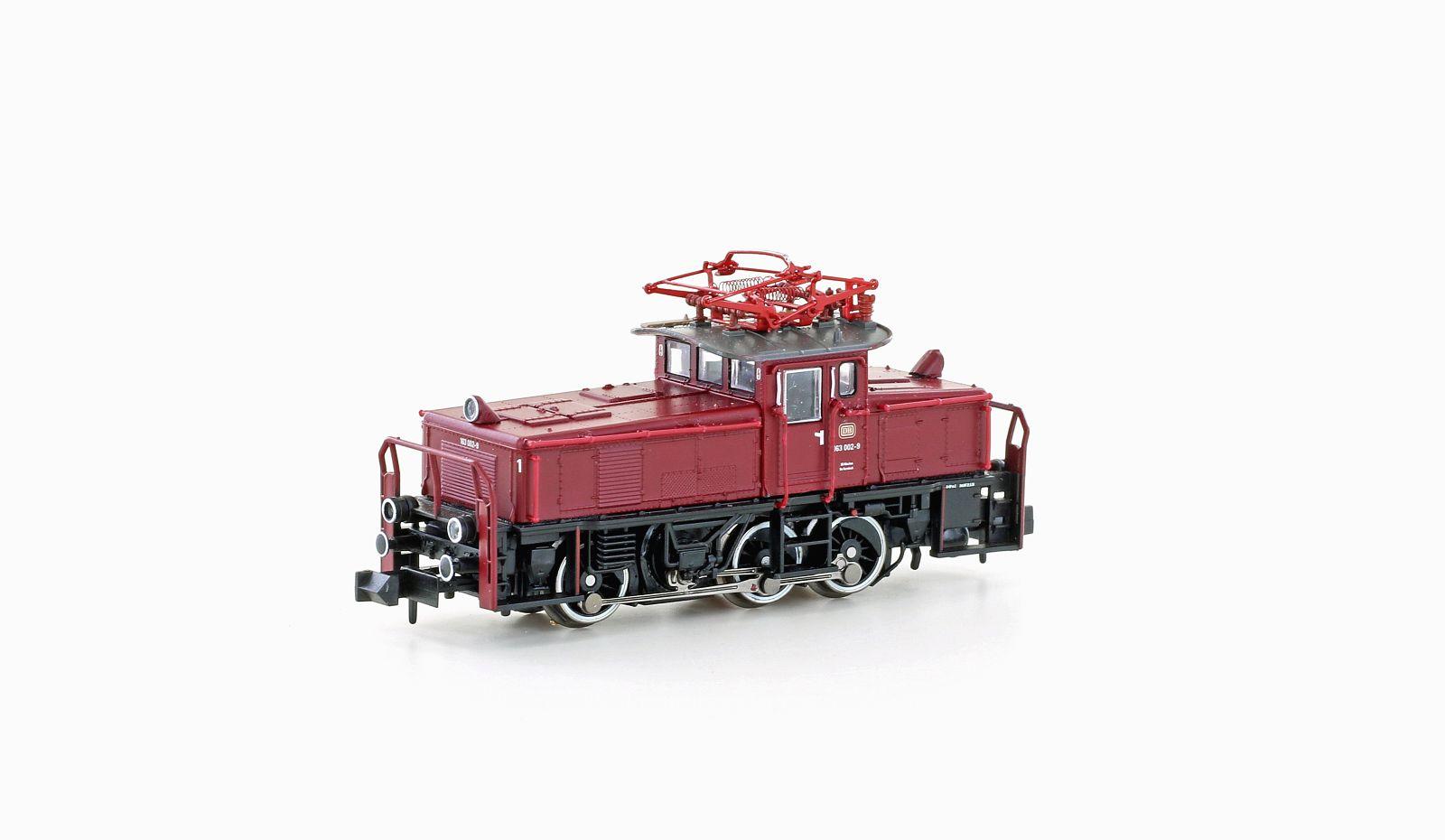 VO Hobbytrain 3052 Spur N Rangierlok BR163 DB Ep.IV rot / schwarz