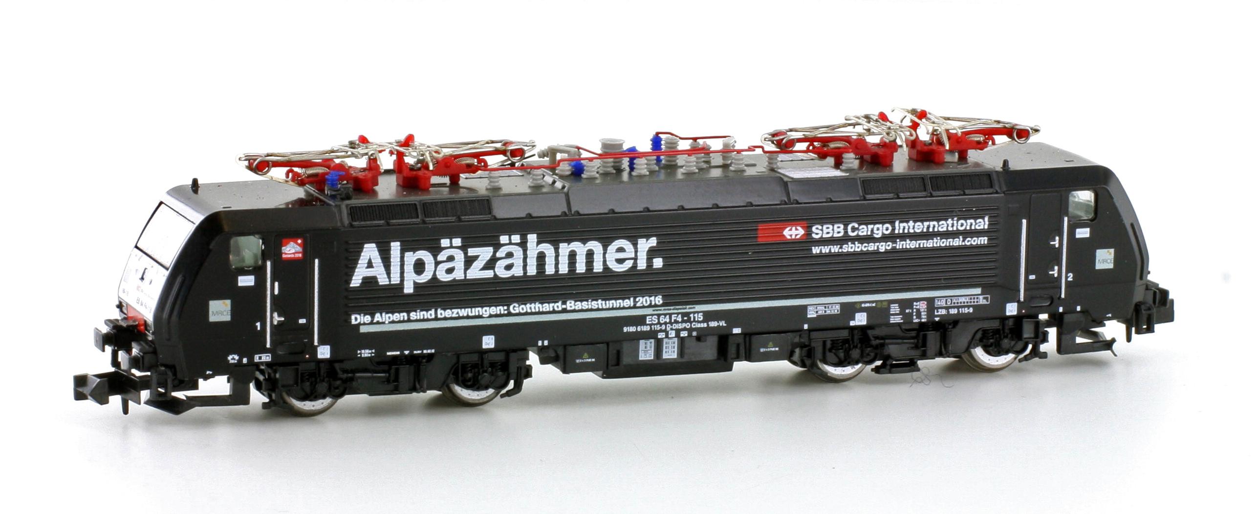 Hobbytrain 2923-1 S Spur N E-Lok BR189 MRCE/SBB Cargo SOUND