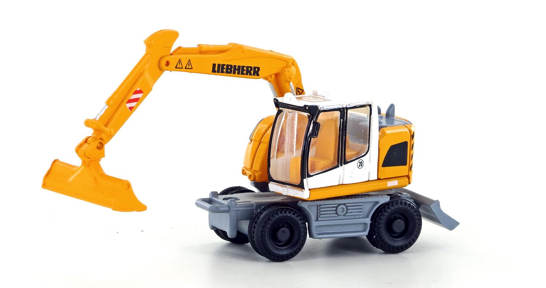 Lemke Minis LC4251 Spur N Liebherr Compact Serie Bagger m. Löffel