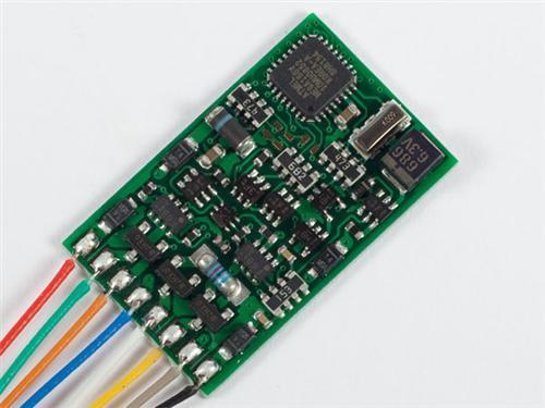 LENZ 10231-02 Standard Plus Decoder RailCom DCC auch Funktionsdecoder