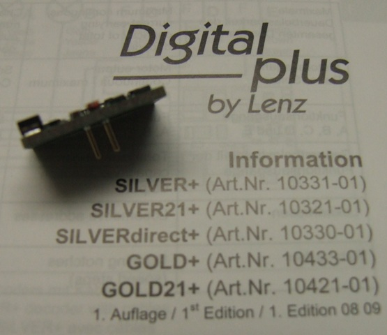 LENZ Silver direct Decoder 10330-01 8 polig ohne Kabel