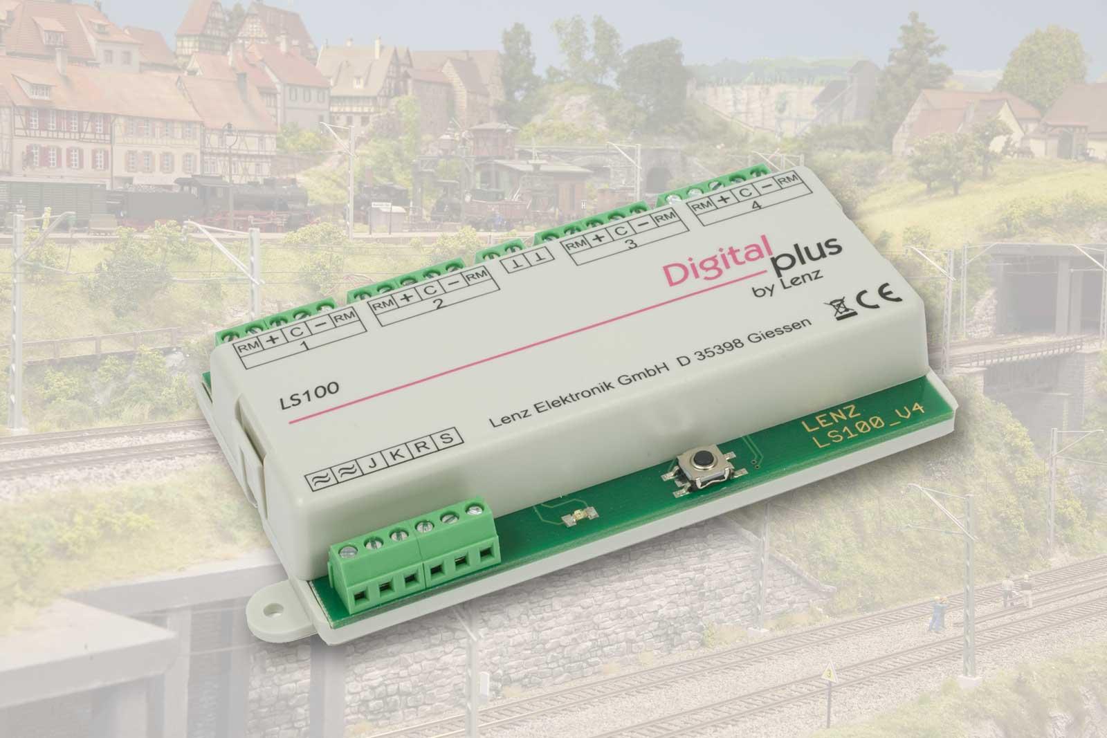 LENZ 11100 LS100 Schaltempfänger 4-fach mit Rückmeldung