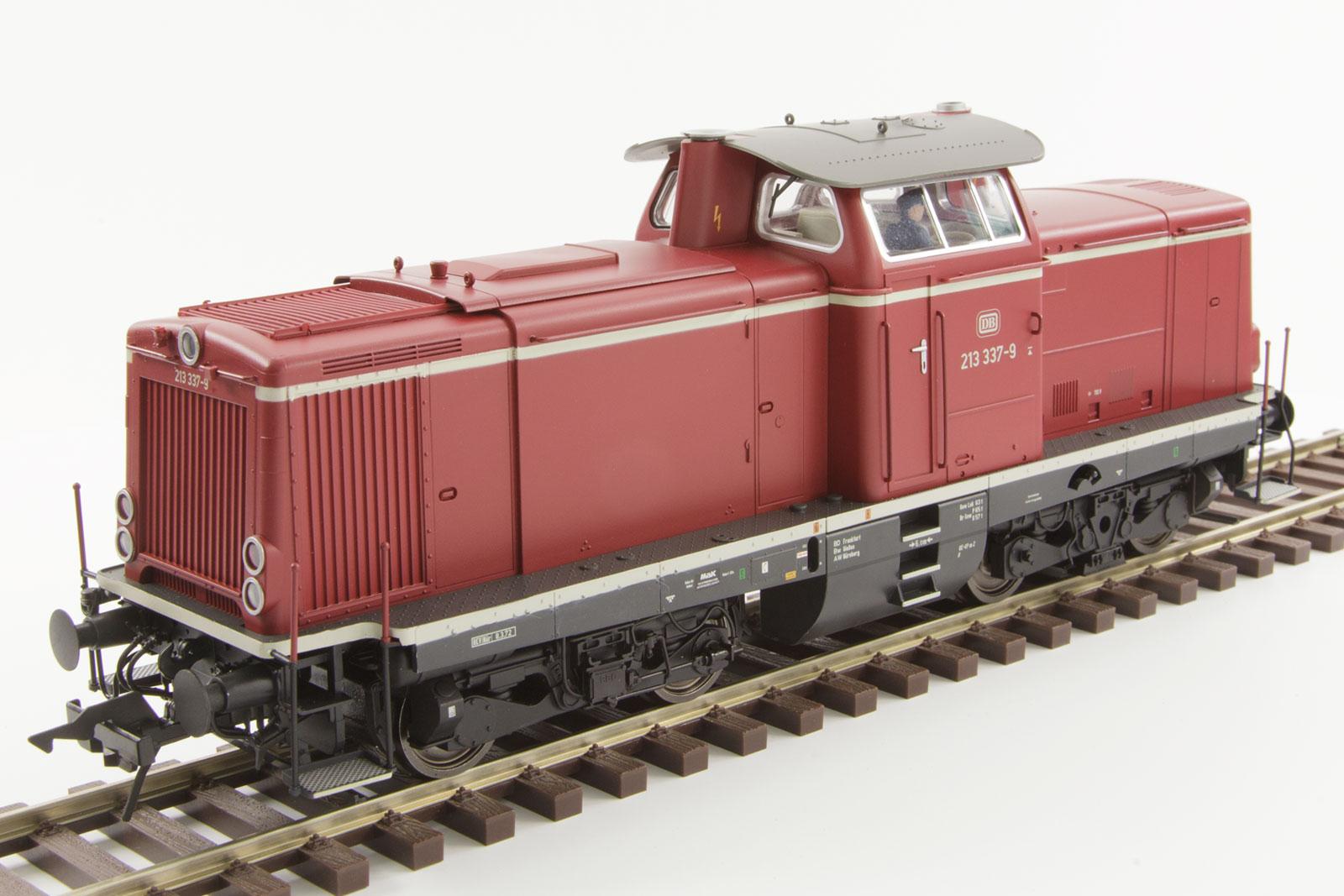 Lenz 40136-01 Spur 0 Diesellok BR 213 rot, Epoche 4 | eBay