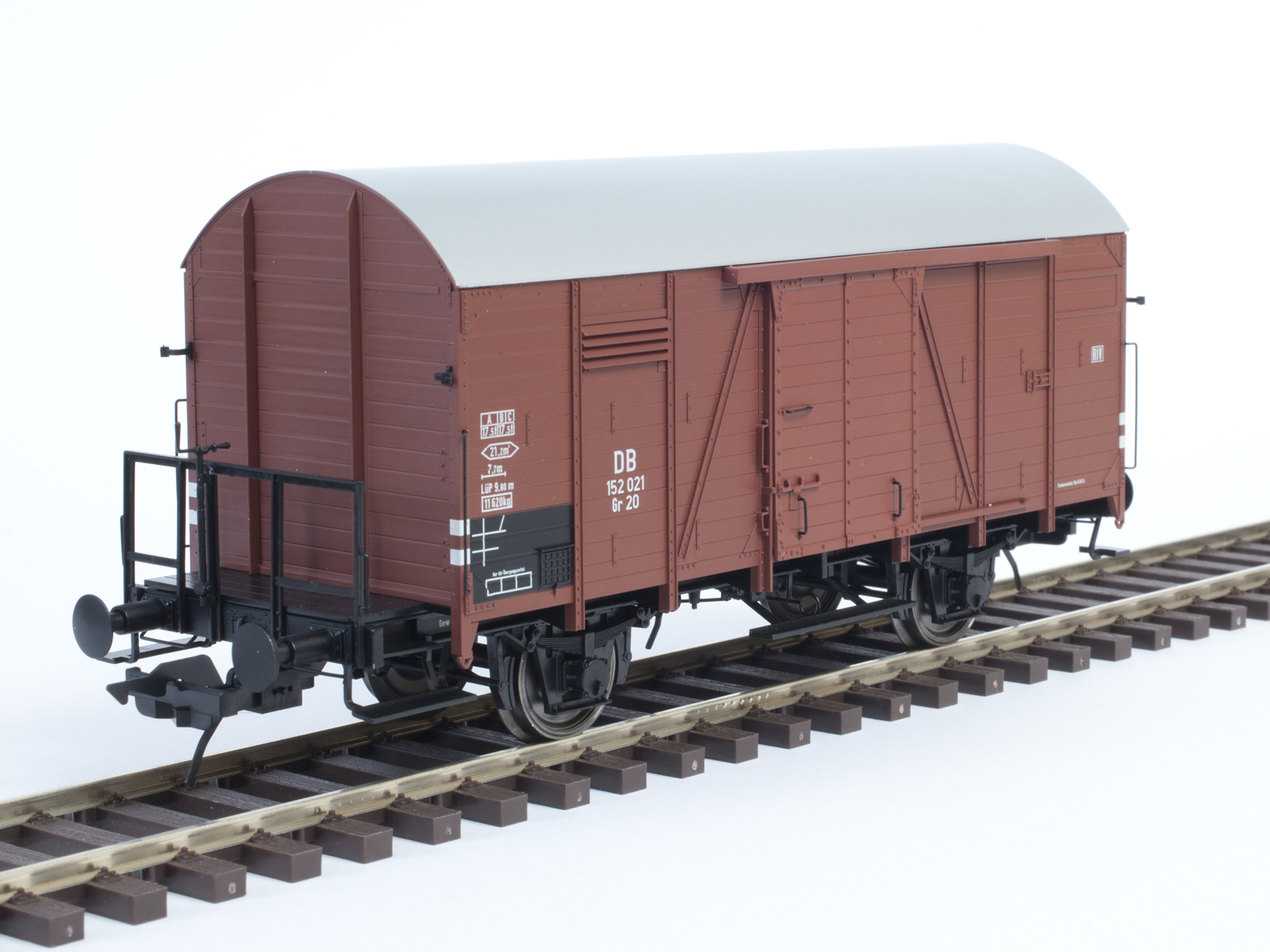 LENZ Spur 0 42216 Ged Güterwagen Gr 20 Kassel mit BB DB EP III