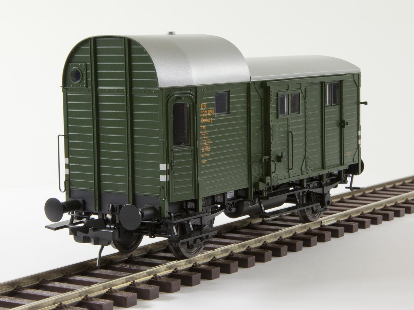 Lenz Spur 0 42228-02 Güterzugpackwagen Pwg Pr 14, DB Ep. 3a, Nr 132 961
