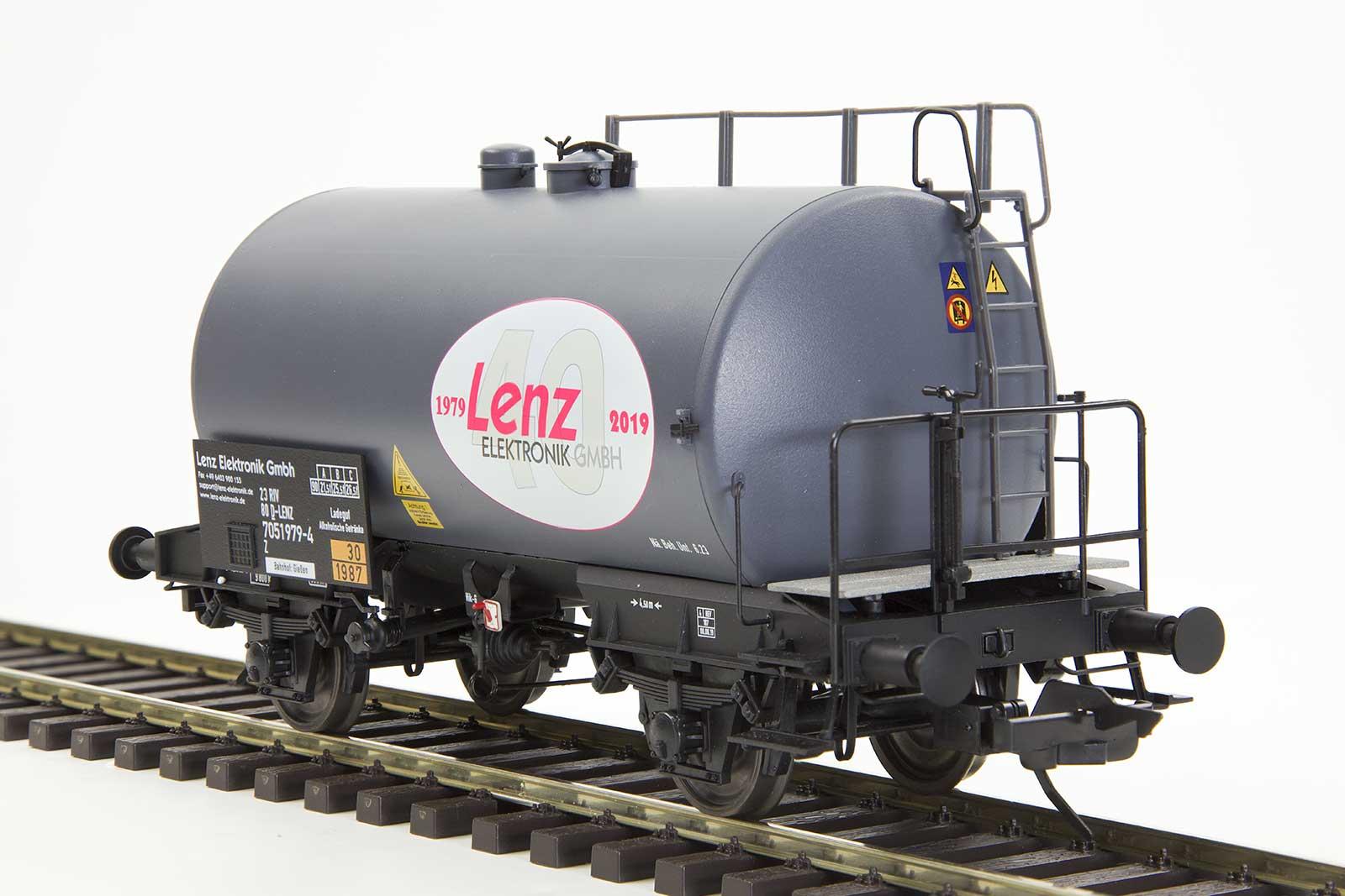 Lenz 42320-01 Spur 0 Kesselwagen 40 Jahre Lenz Elektronik GmbH