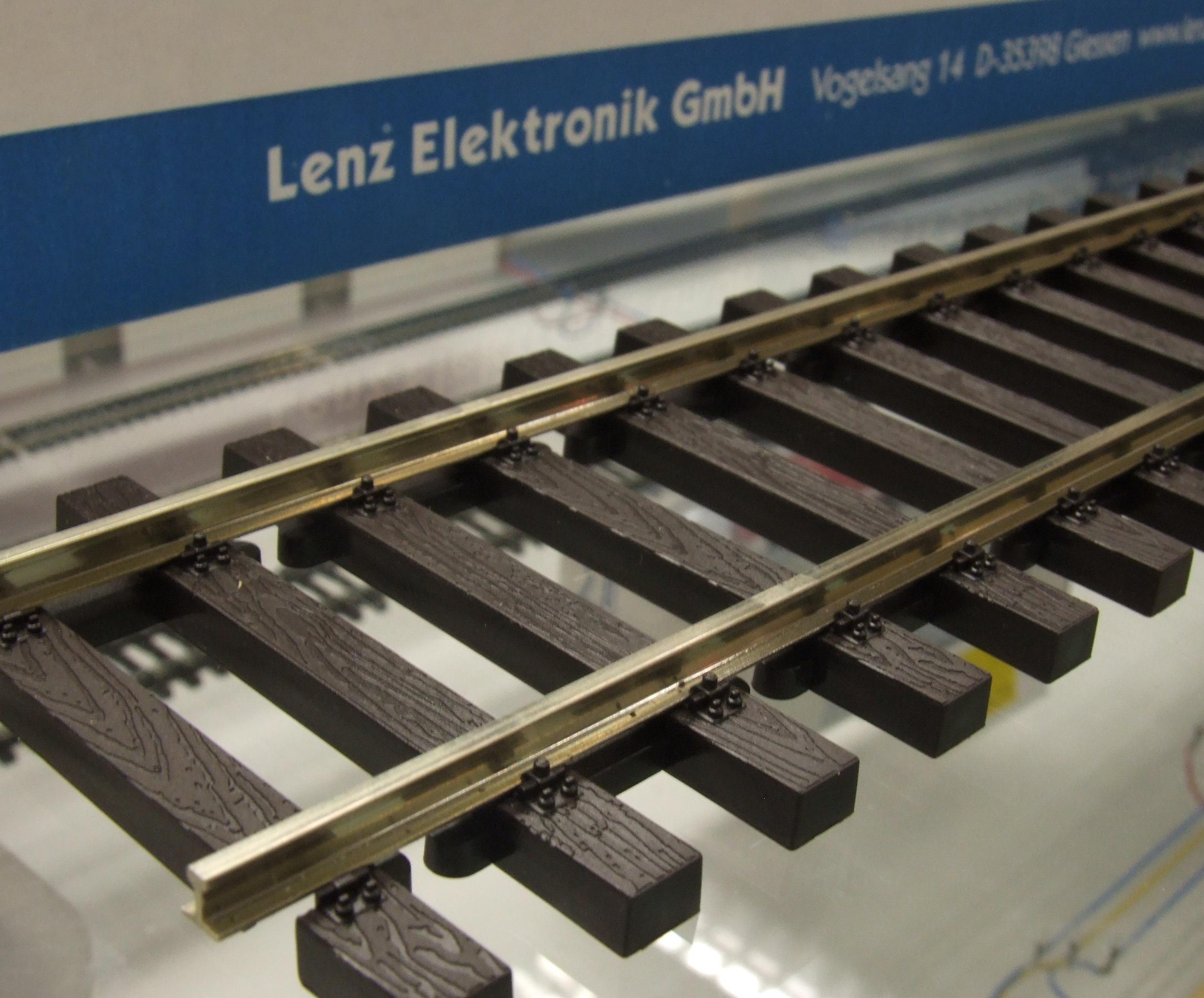 LENZ Spur 0 45014 Gleis flex 914,4 mm  NEU