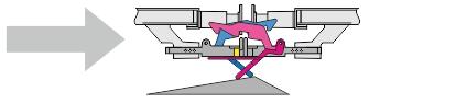 LENZ Spur 0 49009 Kupplungskopf mit Vorentkupplung (Packung mit 2 Stück)