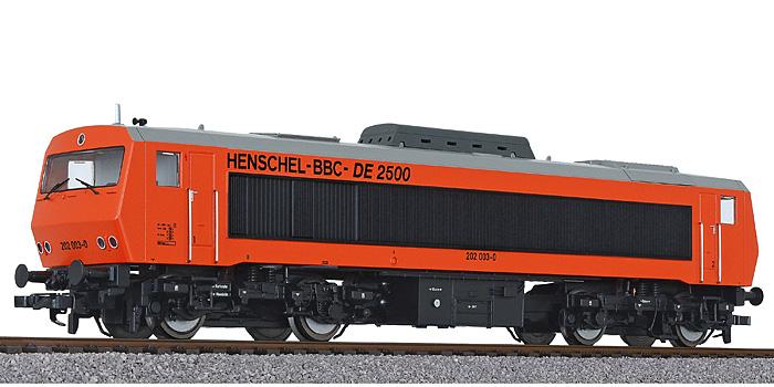 Liliput L 132056  Diesellok DE2500 202 003-0, DB, Ep.IV digital für 3 Leiter