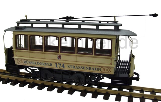 L 193503 liliput g gauge street car dusseldorf exclusive for Exklusive mobel dusseldorf
