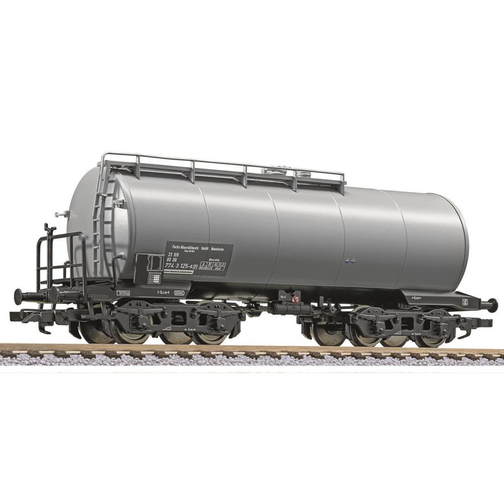 "Liliput L 235966 H0 4-achs. Kesselwagen, DB, ""Fuchs Mineralölwerk"", 630 hl Tank, Ep.IV"