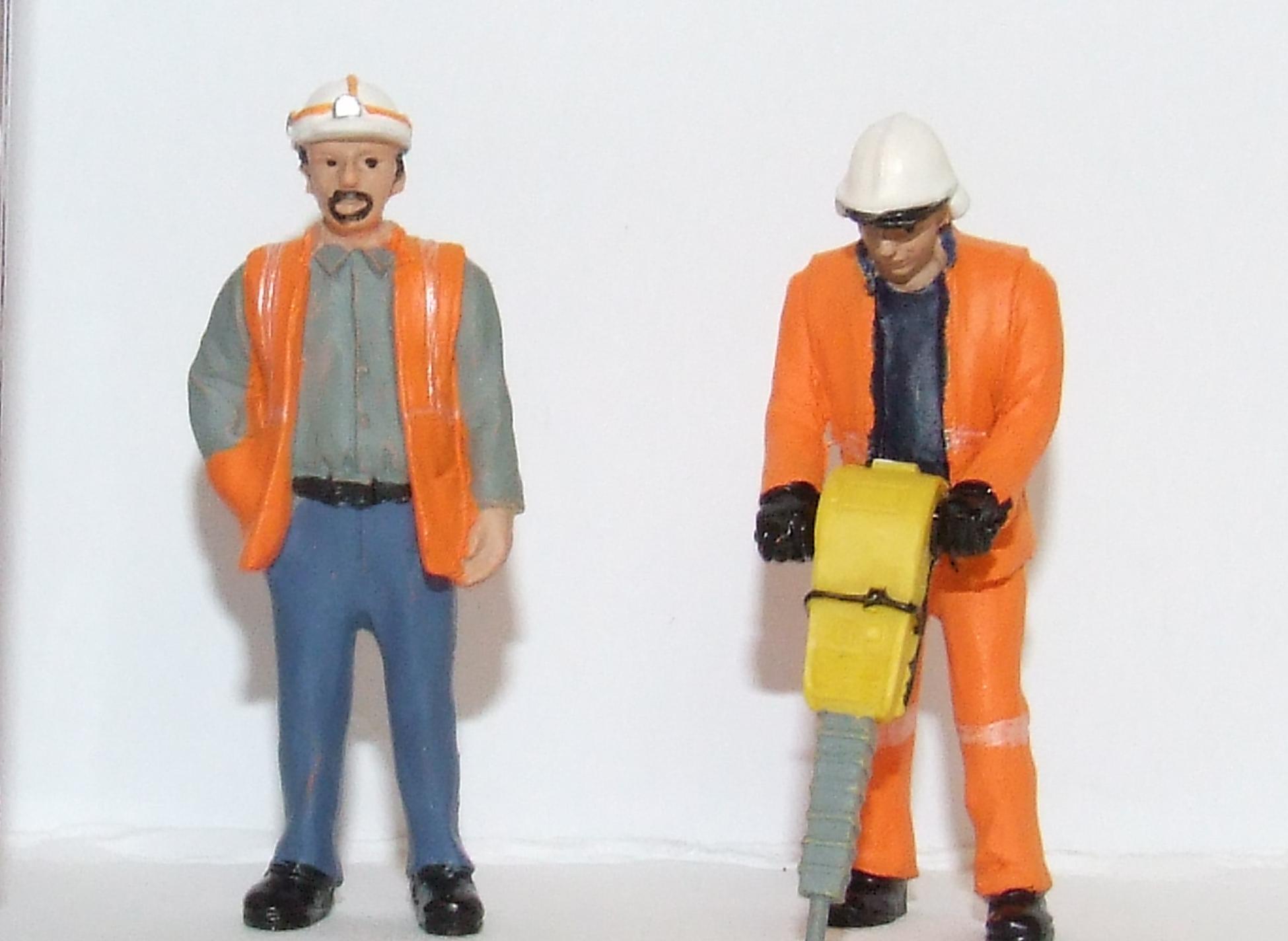 Scenecraft 47-401 Spur 0 1:43 Figuren Arbeiter