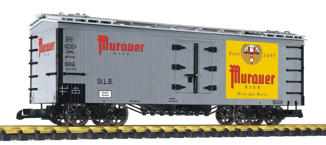 Liliput 95987 Spur G 4-achs. Bierwagen Brauerei Murauer-Bier Ep.III-V