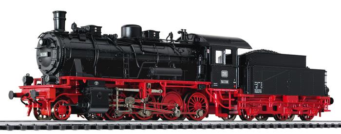 Liliput L 131567 H0 Güterzuglok BR 56 338, DB, Ep. III digital für 3 Leiter
