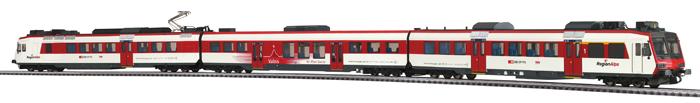 Liliput L 133952 H0 Triebwagen 3tlg. Domino, Regionalps digital für 3 Leiter