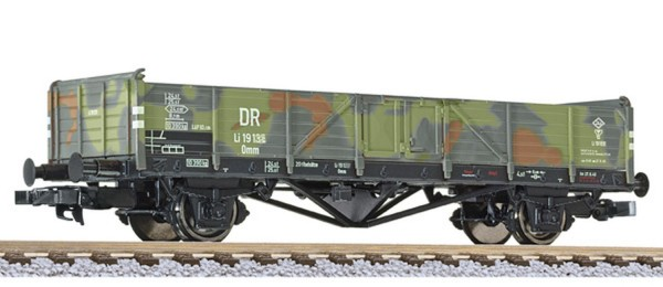 VO Liliput L 235282 H0 Offener Wagen, Bauart Omm, DRB, Tarnanstrich, Ep.II